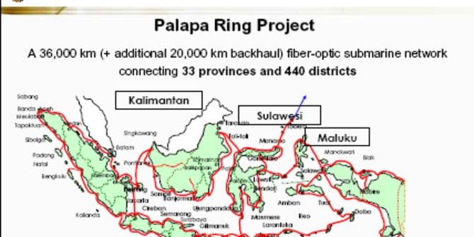 Proyek Infrastruktur Telekomunikasi Palapa Ring, Tanamkan Kabel Fiber Optik Di Sepanjang Indonesia