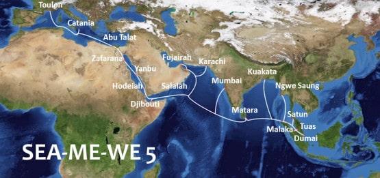PT Telkom Akhirnya Operasikan Jaringan Bawah Laut Asia-Eropa