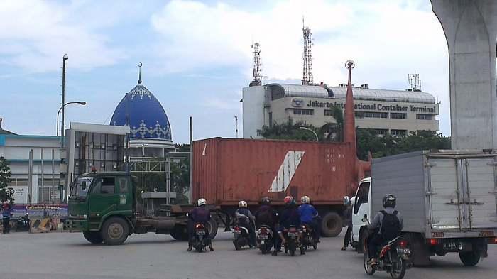 Demi Keselamatan, Tanjung Priok Terapkan 20 Gerbang Sensor