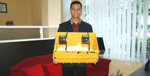 Inovasi Indonesia: Mahasiswa Palembang Ciptakan Sensor Bak Sampah Melalui SMS